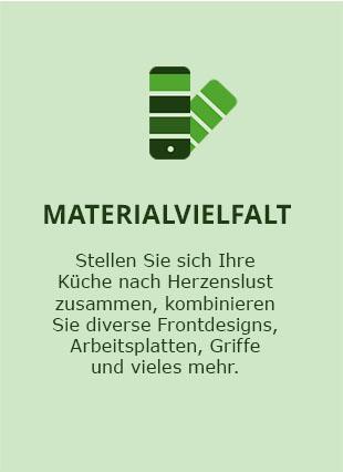 Materialvielfalt