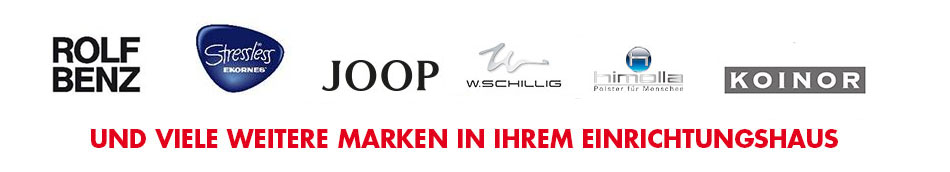 Polstermöbel-Marken bei Möbel Mahler Siebenlehn
